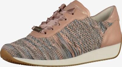 ARA Sneaker 'Lissabon' in mischfarben / puder, Produktansicht