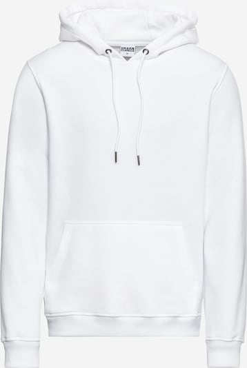 Urban Classics Sweatshirt 'Basic Sweat Hoody' in de kleur Wit, Productweergave