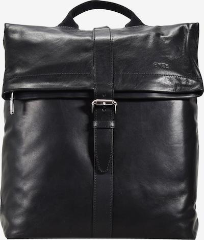 BREE Rucksack 'Stockholm' in schwarz, Produktansicht