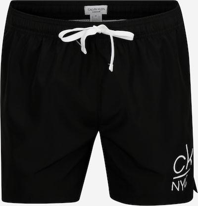 Calvin Klein Swimwear Zwemshorts 'MEDIUM DRAWSTRING' in de kleur Zwart, Productweergave