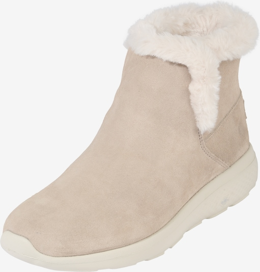 SKECHERS Winterstiefel 'On the go city 2' in hellbeige / wollweiß, Produktansicht