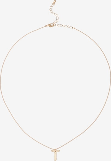 ABOUT YOU Ketting 'Letter T' in de kleur Goud, Productweergave