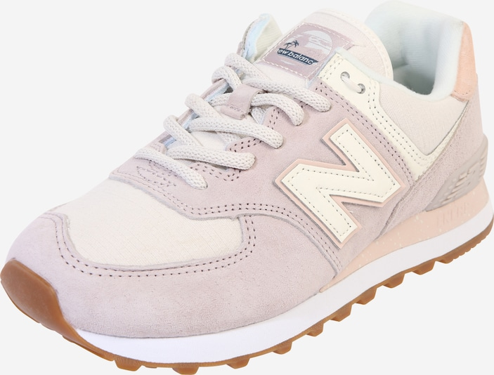 new balance Teenslipper in de kleur Beige / Rosa, Productweergave