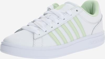 K-SWISS Sneaker 'Court Winston' in hellgrün / weiß, Produktansicht