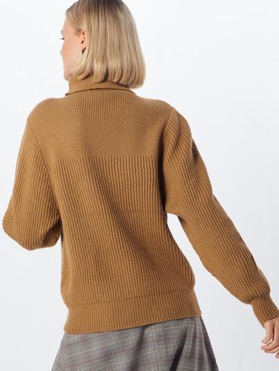 VILA Pullover 'CLOSED' in braun: Rückansicht
