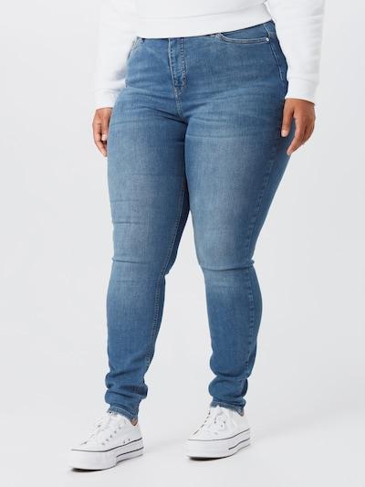 Vero Moda Curve Teksapüksid 'LORA' sinine denim, Modellivaade