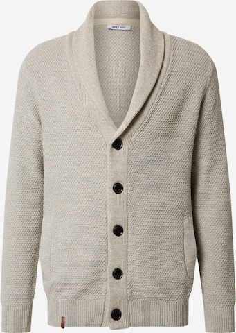 ABOUT YOU Knit Cardigan 'Davin' in Beige
