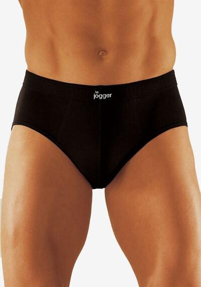 LE JOGGER Slip (8 Stck.) in schwarz, Modelansicht