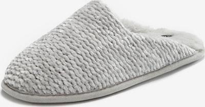 LASCANA Pantoufle en gris, Vue avec produit