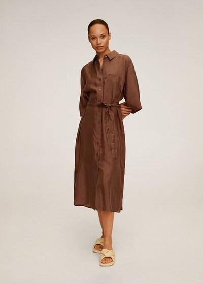 MANGO Kleid in schoko, Modelansicht