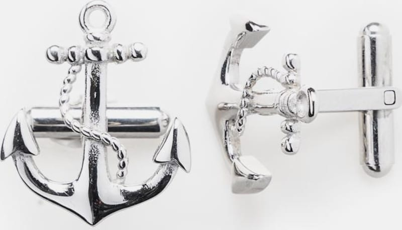 Royal-ego Cufflinks Anchor