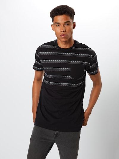 Iriedaily T-Shirt 'Monte Noe' in schwarz: Frontalansicht
