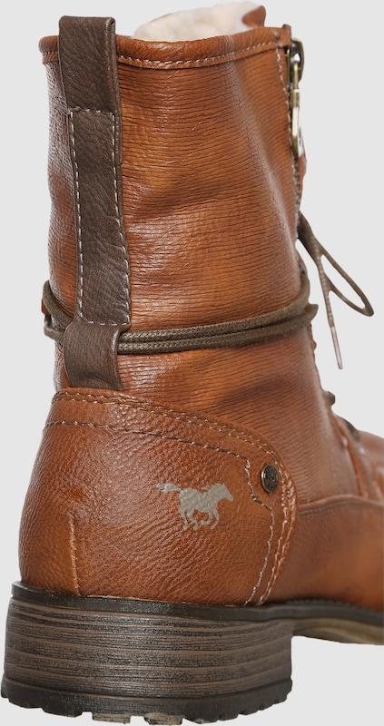 MUSTANG | Schnürstiefelette mit Zipper Zipper Zipper 882ff4