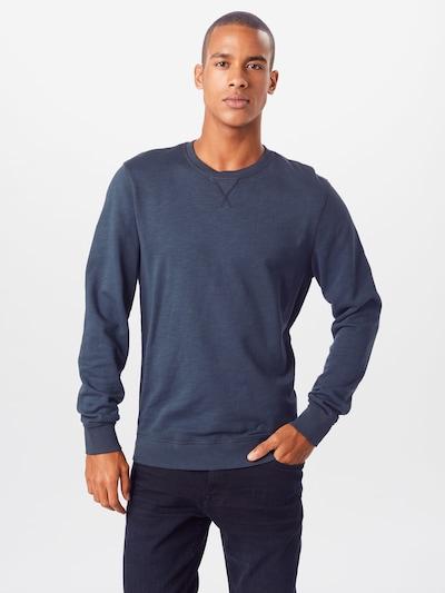 TOM TAILOR Sweatshirt in dunkelblau: Frontalansicht