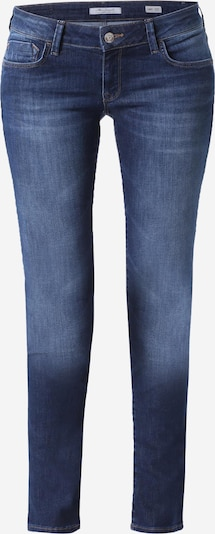 Mavi Skinny Jeans mit Kontrast-Stitching 'Lindy' in blue denim, Produktansicht