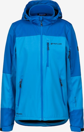 Whistler Softshelljacke 'Tom'was in blau / hellblau, Produktansicht