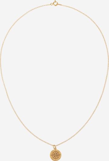 Fräulein Wunder Kette 'Kompass Janine' in gold, Produktansicht