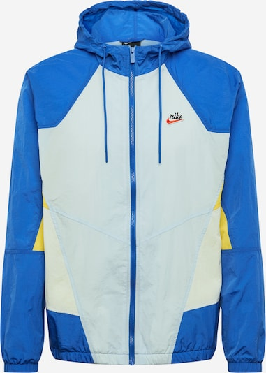NIKE Sportjas in de kleur Blauw / Wit, Productweergave