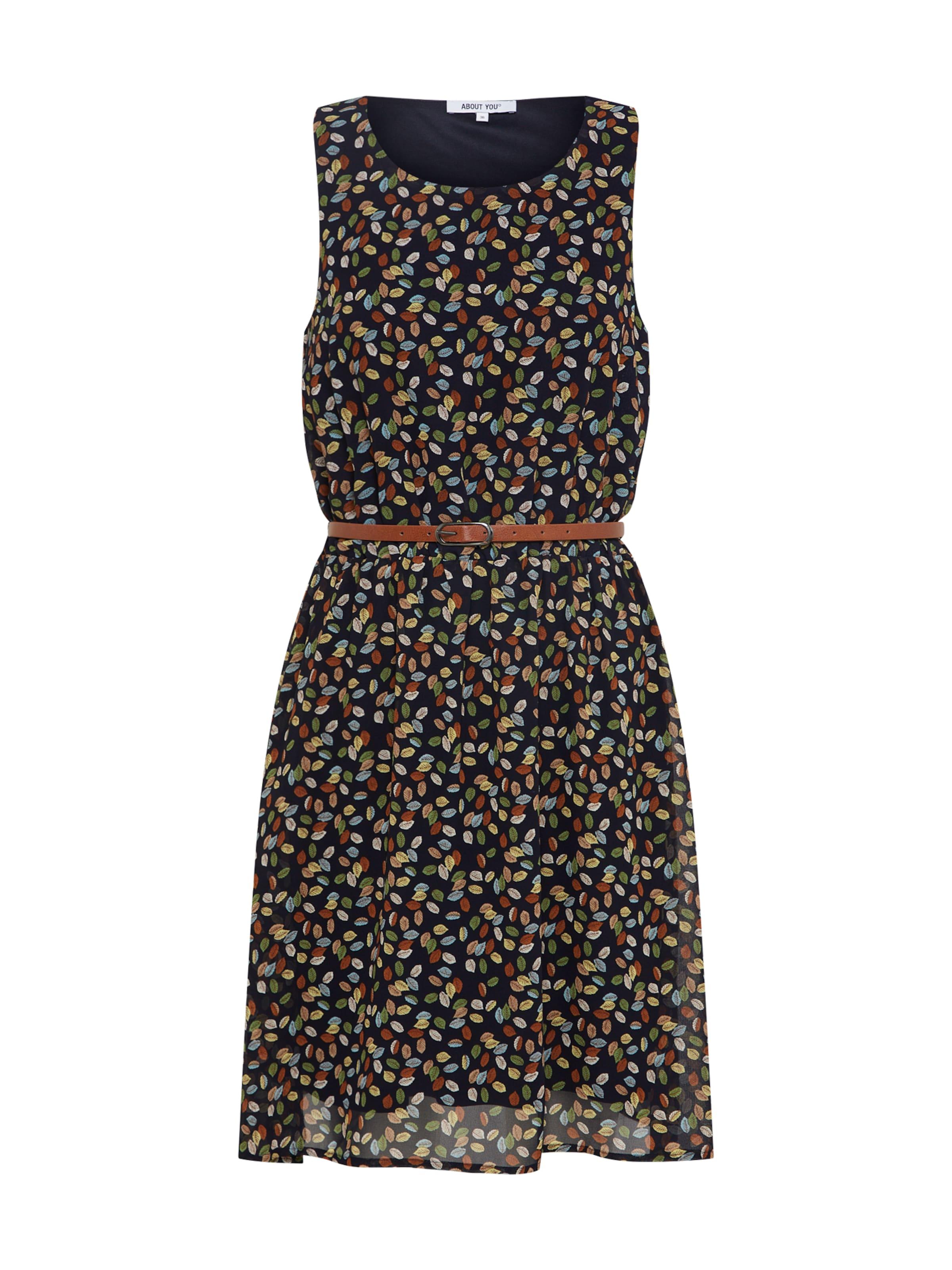 Kleid In 'susann' About You DunkelblauMischfarben CxBoeWrd