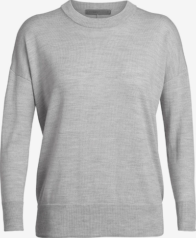 Icebreaker Shirt 'Shearer Crewe' in grau, Produktansicht