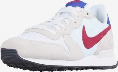Nike Sportswear Sneaker 'Internationalist' in beige / blau / rot / weiß: Frontalansicht