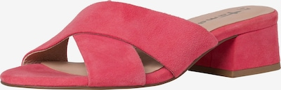 TAMARIS Pantolette in cranberry: Frontalansicht