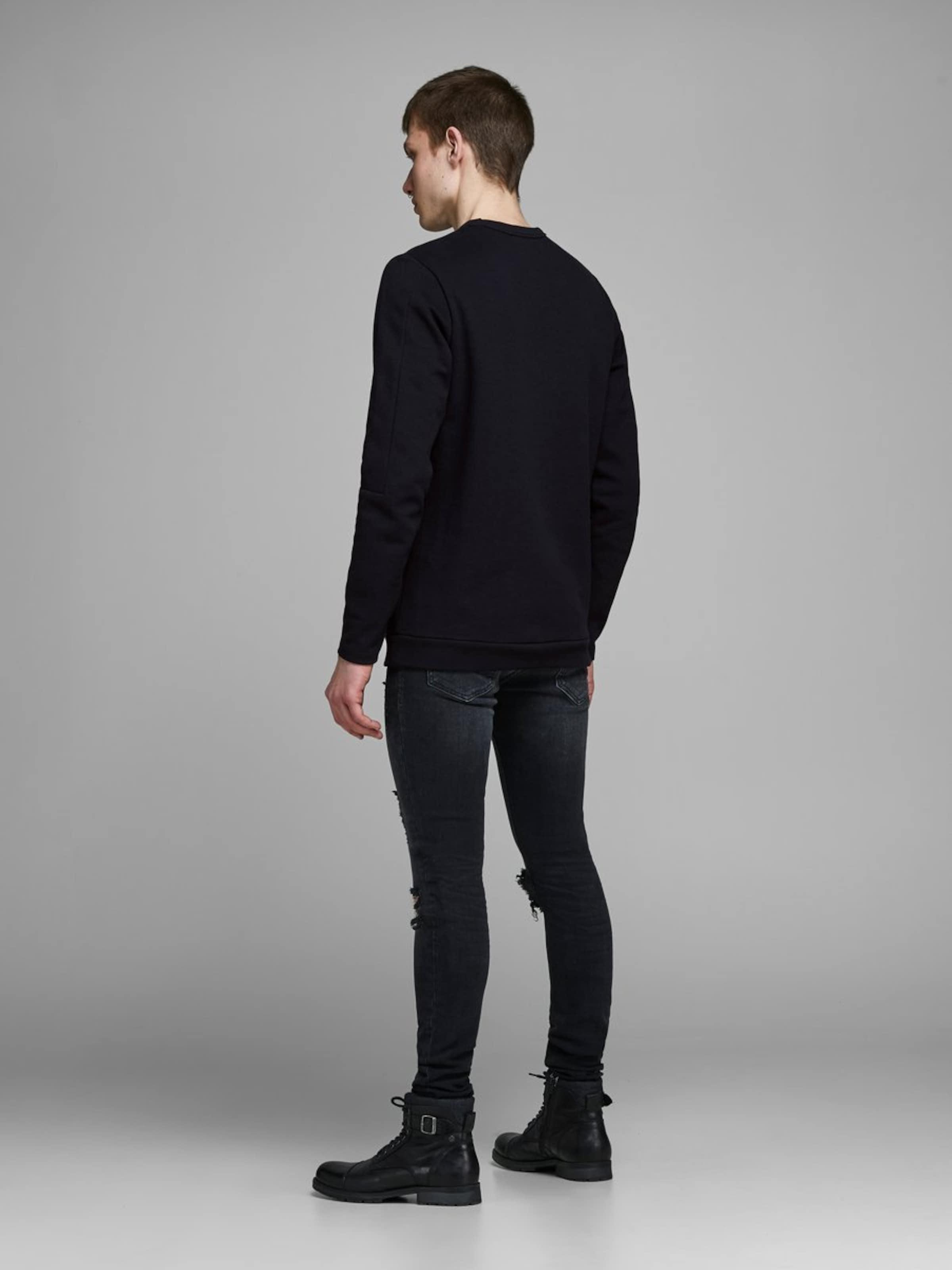 Jackamp; Jones Jackamp; Jones Schwarz Sweatshirt Sweatshirt In eoCxrdB
