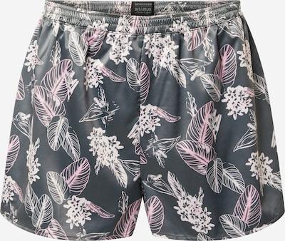 SCHIESSER Pidžamas bikses pelēks / rožkrāsas, Preces skats
