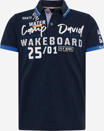 CAMP DAVID Tričko - tmavomodrá / zmiešané farby / šedobiela, Produkt