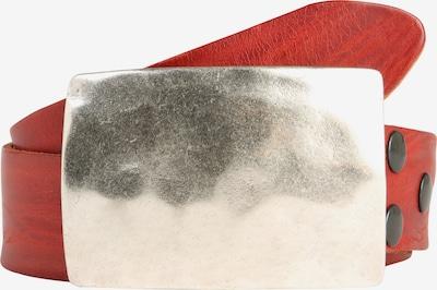 RETTUNGSRING by showroom 019° Ledergürtel 'Masterlux ' in rot, Produktansicht