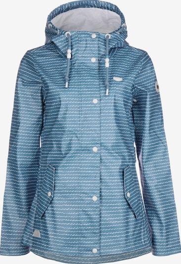 Ragwear Regenjacke ' Marge Waves W ' in blau, Produktansicht