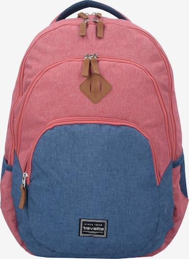 TRAVELITE Rucksack in blau / rot, Produktansicht