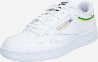 Reebok Classic Sneaker 'CLUB C 85 MU' in gelb / grün / weiß, Produktansicht