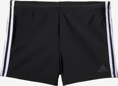 ADIDAS PERFORMANCE Badehose 'FIT BX 3S' in schwarz / weiß, Produktansicht