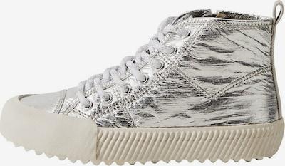 MANGO KIDS Sneaker in silber / weiß, Produktansicht
