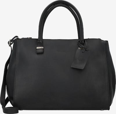Burkely Handtasche 'Wieske' in schwarz: Frontalansicht
