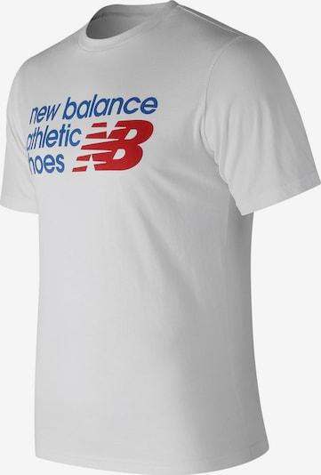 new balance T-Shirt ' MT83541 Athletics Shoe Box ' in naturweiß, Produktansicht