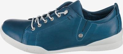 ANDREA CONTI Schnürschuhe in blau, Produktansicht