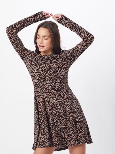 NEW LOOK Kleid 'ANNIE' in braun / schwarz, Modelansicht