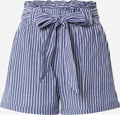 ONLY Pantalon 'ONLMANHATTAN' en bleu / blanc cassé, Vue avec produit