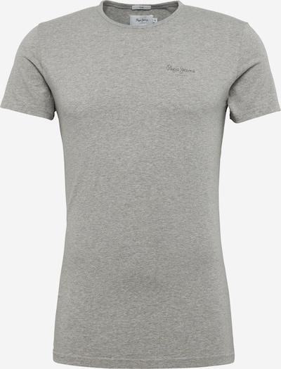 Pepe Jeans Schlichtes Shirt 'ORIGINAL BASIC S/S' in graumeliert, Produktansicht