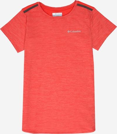 COLUMBIA Koszulka funkcyjna 'Tech Trek™' w kolorze pomarańczowo-czerwony / czarnym, Podgląd produktu