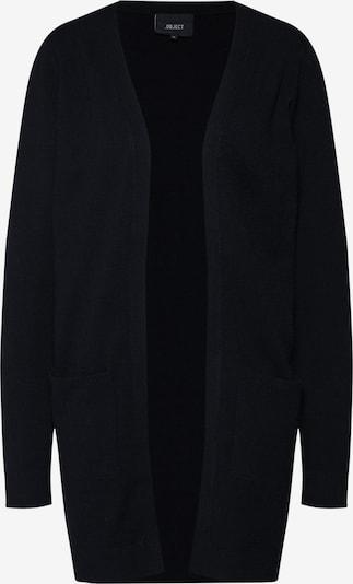 OBJECT Gebreid vest 'OBJTHESS L/S CARDIGAN NOOS' in de kleur Zwart, Productweergave