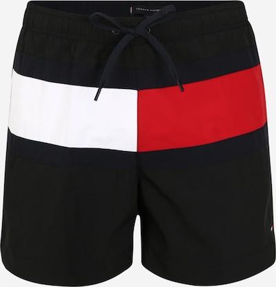 Tommy Hilfiger Underwear Badeshorts in rot / schwarz / offwhite, Produktansicht