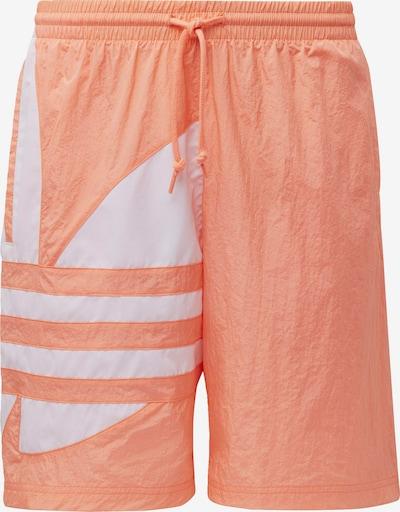 ADIDAS ORIGINALS Shorts in orange / weiß, Produktansicht