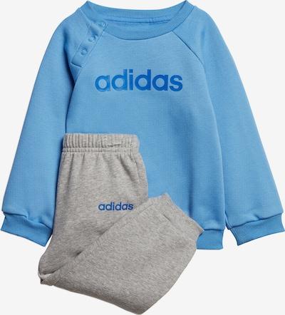 ADIDAS PERFORMANCE Jogginganzug 'I LIN JOGG FL' in blau / grau, Produktansicht
