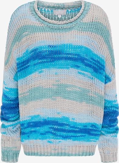 Usha Pull-over oversize en bleu / mélange de couleurs, Vue avec produit