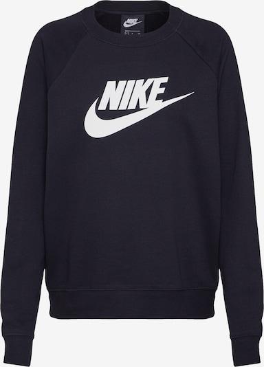 Nike Sportswear Sweat-shirt 'Essntl' en noir: Vue de face