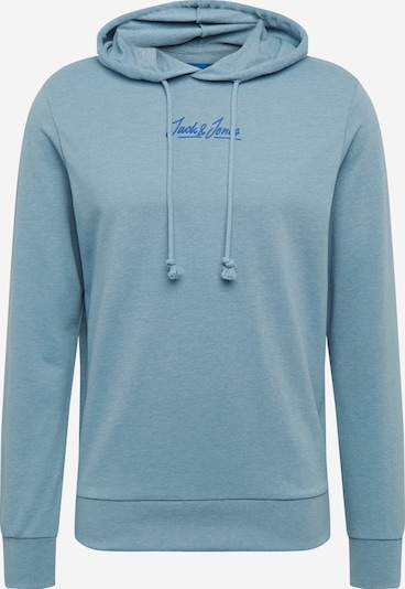 JACK & JONES Sweatshirt 'JORSUMMER' in de kleur Smoky blue: Vooraanzicht