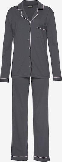 LASCANA Pyjama in de kleur Antraciet / Rosé, Productweergave